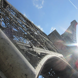 Eiffel Tower by Isabella Mazzei - Buildings & Architecture Statues & Monuments ( paris, epic, monument, travel, pretty )