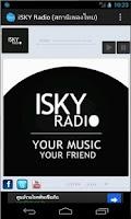 Screenshot of iSKY.in.th Internet radio