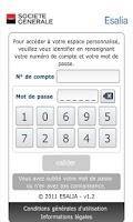Screenshot of The ESALIA App