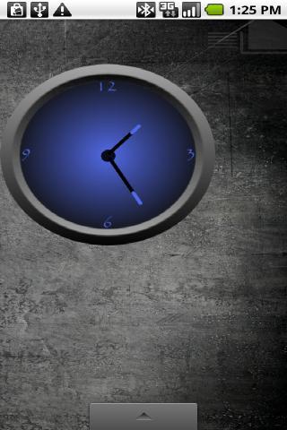 Cool Blue Clock Set