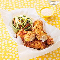 Baked Fish Fingers