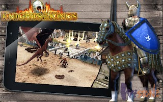 Screenshot of Knights of the Kings