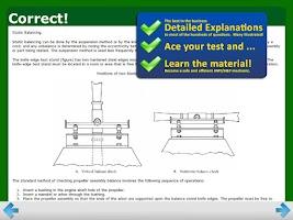 Screenshot of FAA A&P Powerplant Test Prep