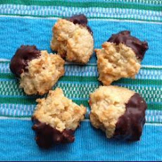Coconut And Marzipan Macaroons
