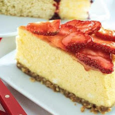 Strawberry-Coconut Cheesecake