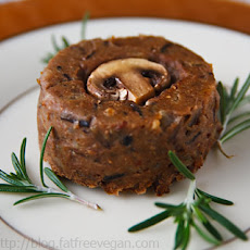 Mushroom, Lentil, and Wild Rice Timbales