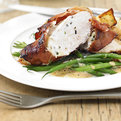 Chicken Stuffed With Herby Mascarpone