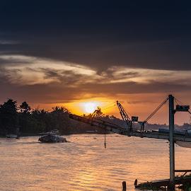 by Nguyen Trung - Landscapes Sunsets & Sunrises