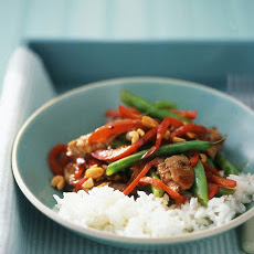 Pork and Green-Bean Stir-Fry