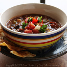 Refried Bean Soup
