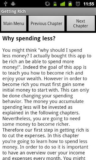 【免費書籍App】Getting Rich - Lite-APP點子