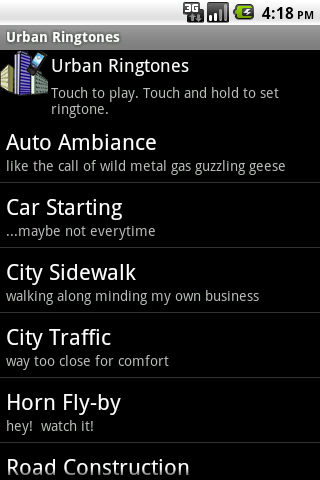 Urban Ringtones
