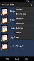 Screenshot of Kenya Radio