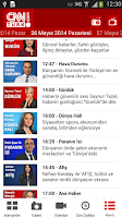 Screenshot of CNN Türk