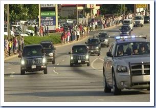 Motorcade Near Cherrydale #2 (Alan Devorsey - Gville News)