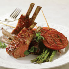 BBQ Roasted Rack of Lamb