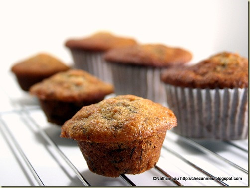 Aunty Marlene's Banana Muffins