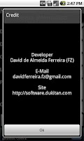 Screenshot of Device Information