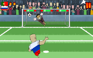 Screenshot of Football Penalty World Cup