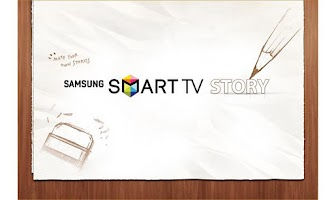 Screenshot of SAMSUNG SMART TV STORY APP