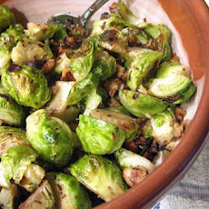 Roasted Brussels Sprouts With Hazelnut Brown Butter