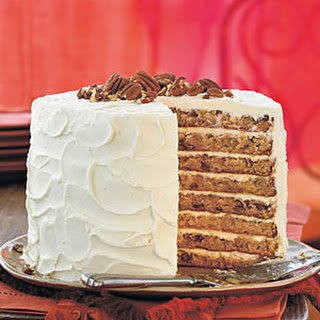Mile-High White Chocolate Hummingbird Cake