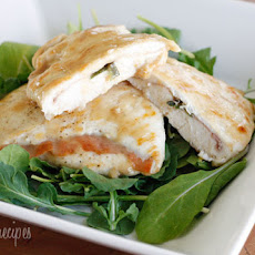 Lighter Chicken Saltimbocca