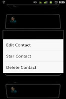 Screenshot of 3D Contact List Premium