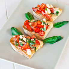 Bruschetta with Provolone Cheese