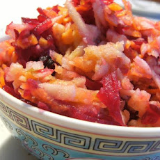 Beetroot, Apple and Carrot Salad