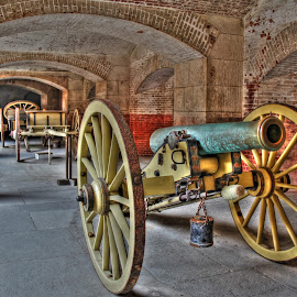 Canons, Fort Point, San Francisco, California, USA by Arvind Mallya - Buildings & Architecture Public & Historical ( california, canons, usa, san francisco, fort point )