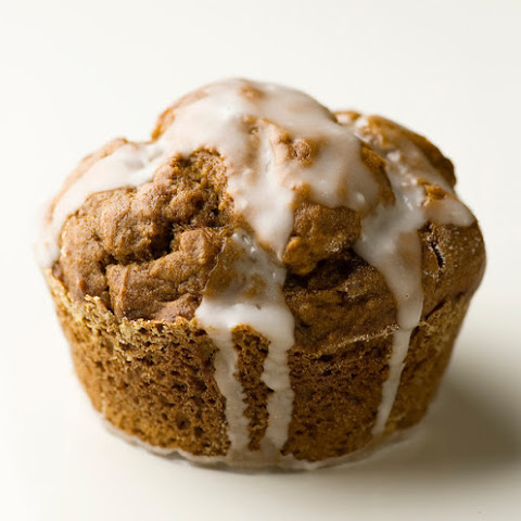 Glazed Gingerbread Muffins