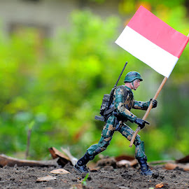Indonesian soldier by Ahmad khoirul Hakim - Artistic Objects Toys