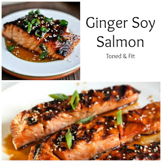 Spicy Ginger & Soy Salmon