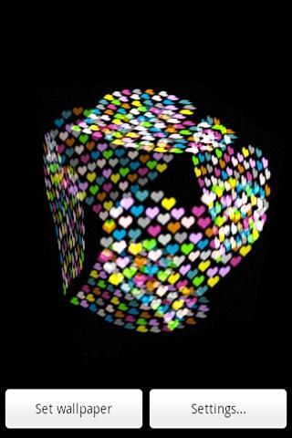 3D 美しい心