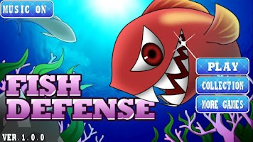Screenshot of Fish Defense