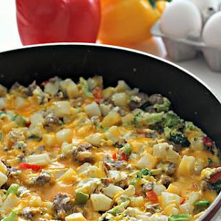 Sausage Potato Egg Skillet Recipes