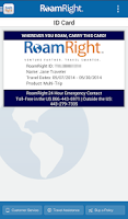 Screenshot of RoamRight