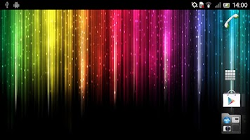 Screenshot of Rainbow colors Live Wallpaper