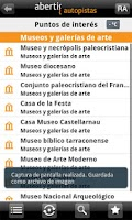 Screenshot of abertis Tarragona