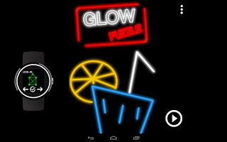 Screenshot of GlowPuzzle: Connect the Dots