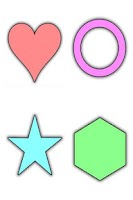 Screenshot of Learning Shapes for Kids