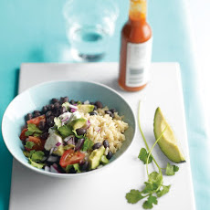 Brown Rice and Black Beans