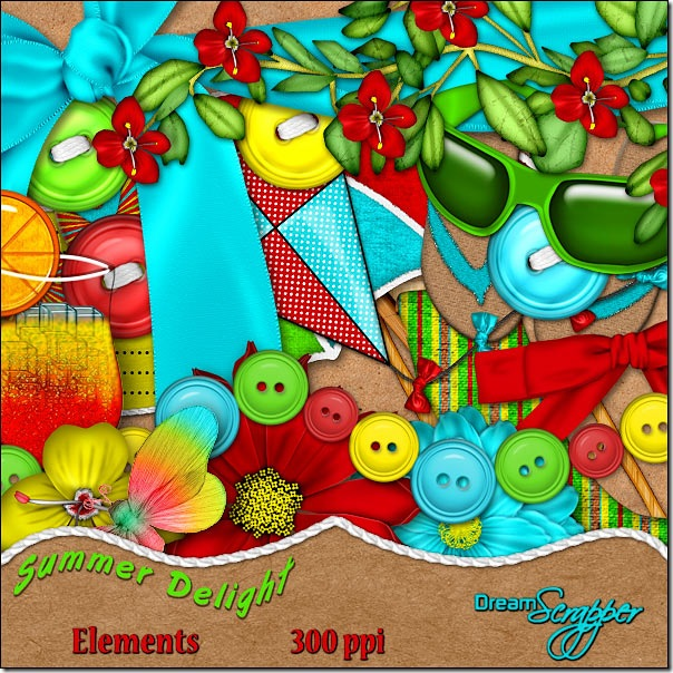 Summer Delight Elements