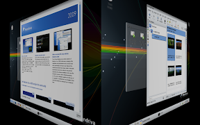 Mandriva One 2009 KDE 4.1.2 Desktop Effects