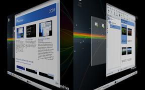 Mandriva One 2009 KDE 4.1.2 Desktop Effects