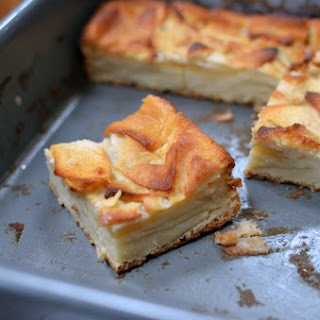 Dorie's Custardy Apple Bars