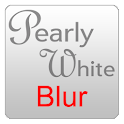 Pearly White Blur ADW icon