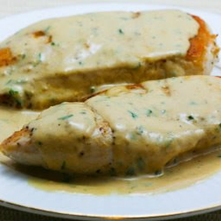 Sauteed Chicken Breasts with Tarragon-Mustard Pan Sauce Recipe ...