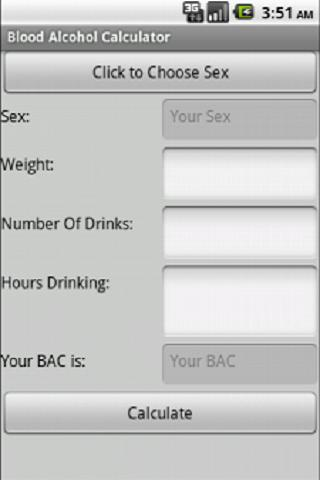 Blood Alcohol Calc Ad Free